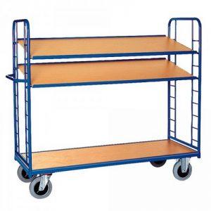 Etagenwagen / Paketwagen mit 3 Böden