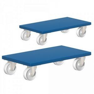 Möbelhund®, Möbelroller mit Tragkraft 500 kg, LxBxH 600 x 300 x 145 mm  / 2 Stück