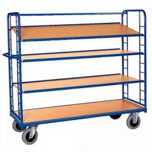 Etagenwagen / Paketwagen mit 4 Böden