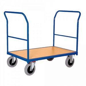 Schiebebügelwagen mit beidseitigen Schiebebügeln