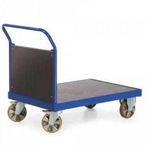 Stirnwandwagen für schwere Lasten - Tragkraft 2200 kg - Ladefläche LxB 1600 x 800 mm, LxBxH 1790 x 800 x 1050 m