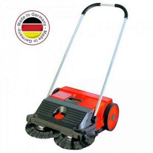 Handkehrmaschine, Kehrbreite 550 mm, Vol. 25 Liter, Kehrleistung ca. 1600 m²/h