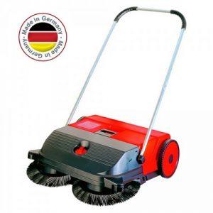 Handkehrmaschine, Kehrbreite 750 mm, Vol. 47 Liter, Kehrleistung ca. 2400 m²/h