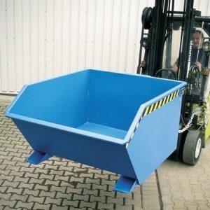 Kippmulde für Stapler, LxBxH 1640 x 1280 x 780 mm, Volumen: 1,00 m³, Tragkraft: 1500 kg