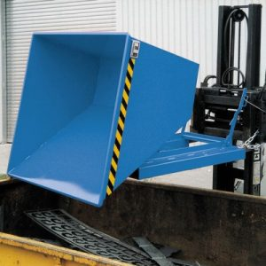 Kippmulde für Stapler, LxBxH 1420 x 1190 x 1070 mm, Volumen: 0,75 m³, Tragkraft: 1000 kg
