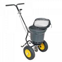 Streuwagen für Salz, 30 Liter / 23 kg, mit Luftbereifung